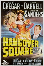 background picture for movie Hangover square
