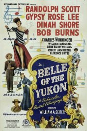 background picture for movie Belle of the yukon