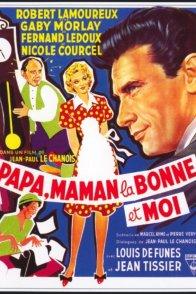 Affiche du film : Papa maman la bonne et moi