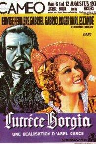 Affiche du film : Lucrèce Borgia