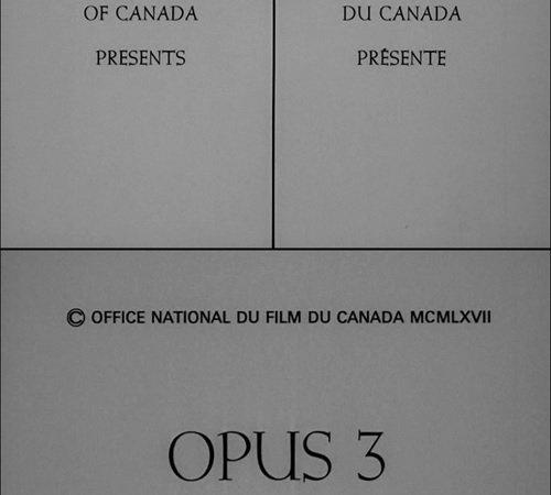 Photo du film : Opus iii