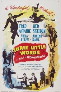 Affiche du film : Trois petits mots