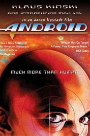 background picture for movie Androide