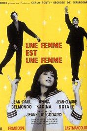 background picture for movie Une femme est une femme