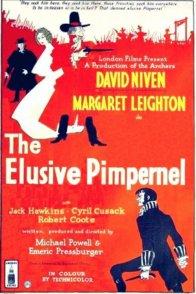 Affiche du film : The elusive pimpernel