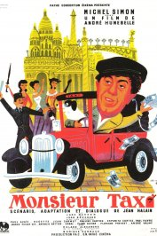 background picture for movie Monsieur taxi