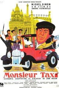 Affiche du film : Monsieur taxi