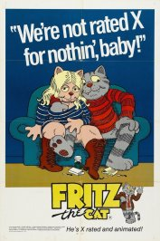 background picture for movie Fritz the cat