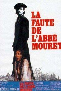 Affiche du film : La faute de l'abbe mouret