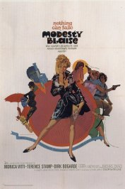background picture for movie Modesty Blaise