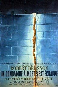 Affiche du film : Un condamné à mort s'est echappé