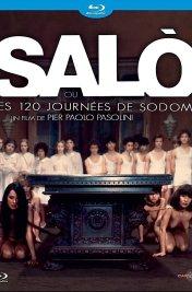 Affiche du film : Salò ou les 120 journées de sodome