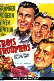 background picture for movie Trois troupiers