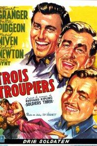 Affiche du film : Trois troupiers