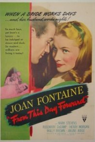 Affiche du film : From this day forward