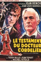 background picture for movie Le testament du docteur cordelier