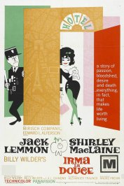 background picture for movie Irma la douce