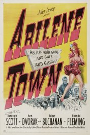 background picture for movie Abilene Town