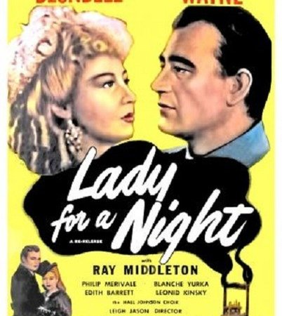 Photo du film : Lady for a night