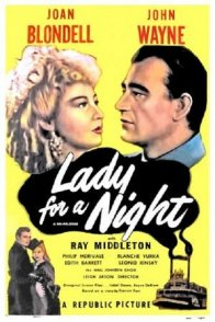Affiche du film : Lady for a night