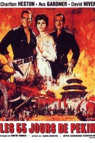 Affiche du film : Les 55 jours de pekin