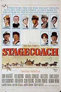 Affiche du film : La diligence vers l'ouest