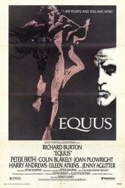 background picture for movie Equus