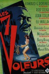 Affiche du film : Les sept voleurs