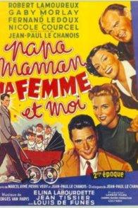 Affiche du film : Papa maman ma femme et moi