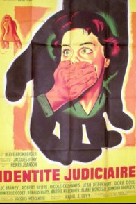 Affiche du film : Identite judiciaire
