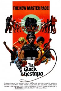 Affiche du film : Black gestapo