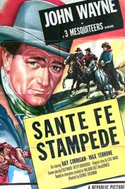 background picture for movie Santa fe stampede