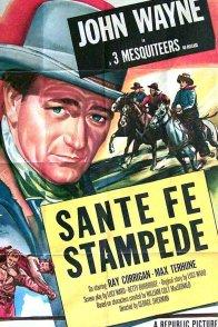 Affiche du film : Santa fe stampede