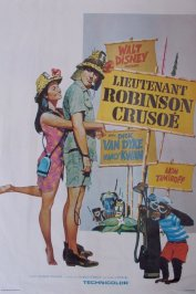 background picture for movie Lieutenant robinson crusoe