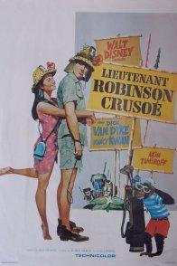 Affiche du film : Lieutenant robinson crusoe