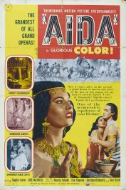 background picture for movie Aida