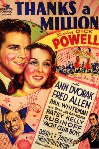 Affiche du film : Thanks a million