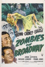 background picture for movie Zombies on broadway