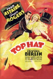 background picture for movie Top hat
