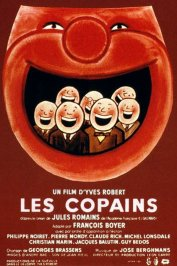background picture for movie Les copains