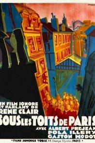Affiche du film : Sous les toits de paris