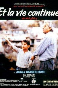 Affiche du film : Et la vie continue