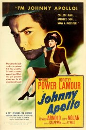 background picture for movie Johnny apollo