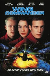 background picture for movie Wing commander