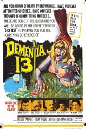 background picture for movie Dementia 13