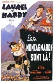 background picture for movie Les montagnards sont la