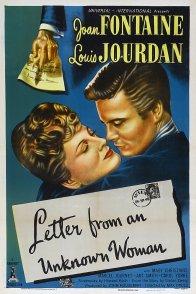 Affiche du film : Lettre d'une inconnue