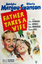 background picture for movie Father takes a wife