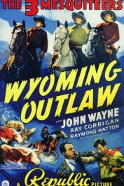 background picture for movie Wyoming outlaw