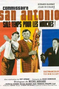 Affiche du film : Commissaire san antonio